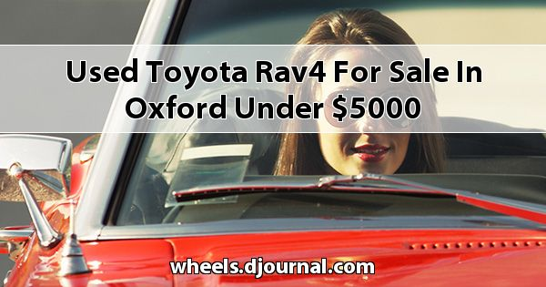 Used Toyota RAV4 for sale in Oxford under $5000