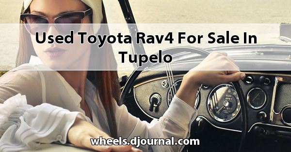 Used Toyota RAV4 for sale in Tupelo