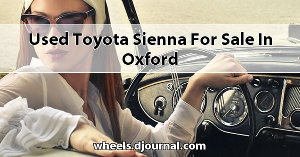 Used Toyota Sienna for sale in Oxford